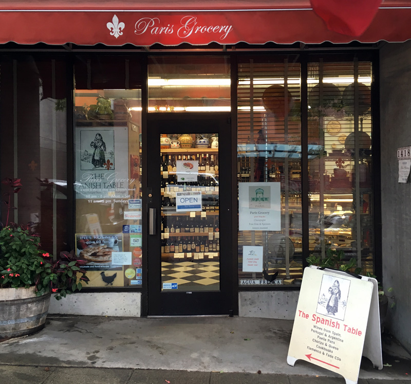 paris-madrid grocery | food & wine from both sides of the pyrenees