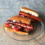 Chistorra hot dog