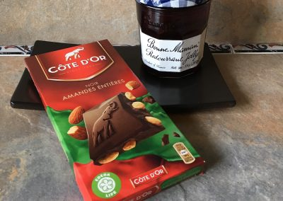 Chocolate and jam
