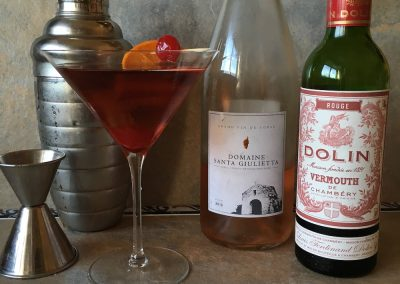 Dolin wine manhattan