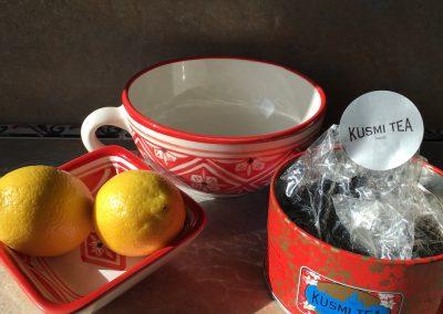 Kusmi tea cup
