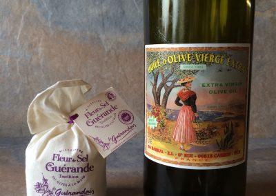 Olive Oil & Fleur de Sel