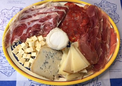 Cheese & Meat Plate