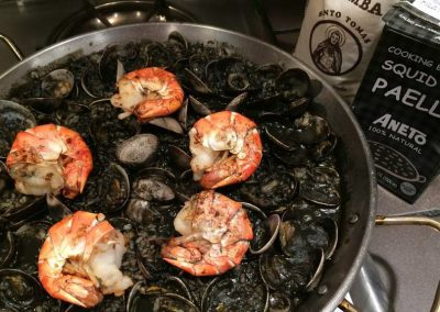 Paella-Black rice