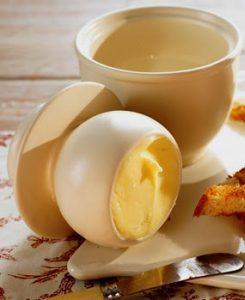 Ceramic Butter Bowl