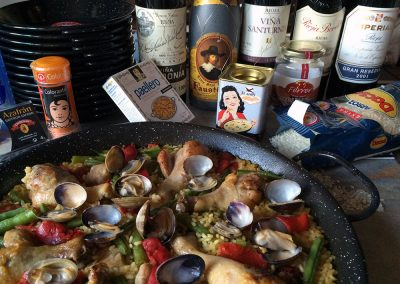 Paella & 2001 Wines