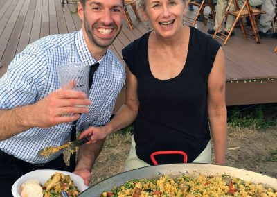 Paella - Clinton wedding