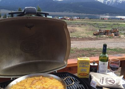 Paella at Yellowstone