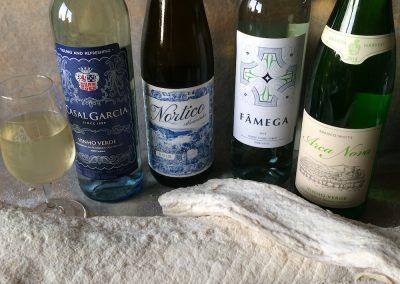 Vinho Verde-& Salt Cod