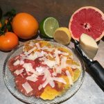 Citrus with Manchego Cheese and Membrillo Dressing