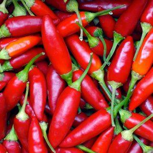 piri piri chilies