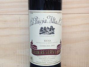 Rioja Alta Gran Reserva 2004