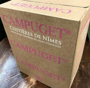 Campuget Box Rose
