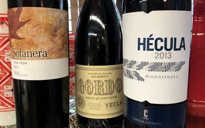 Yecla Wines! More Bang For Your Buck!