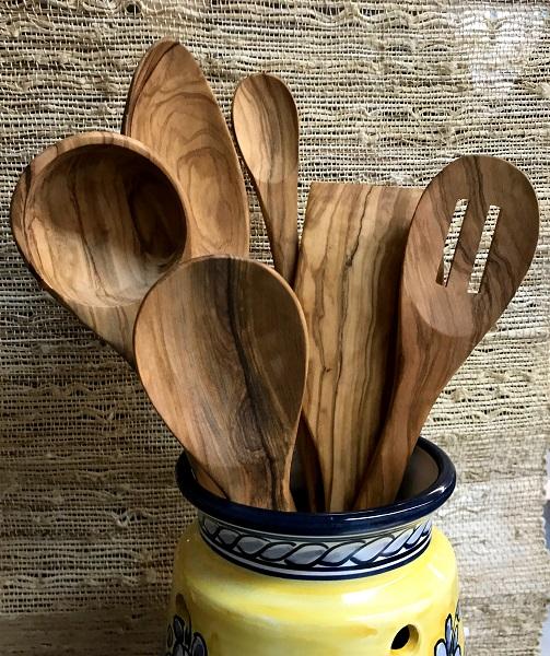 Olive Wood Untensils
