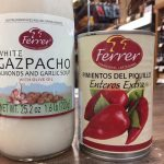 Ferrer White Gazpacho, piquillo peppers
