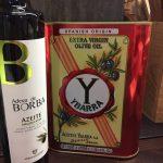 Ybarra and Azeite de Borba Olive Oils