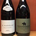 El Rapoloa and Bernabeleva Spanish red wines