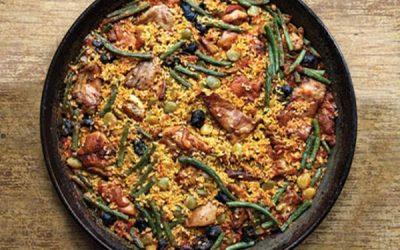 Calasparra Rice and Snails = Paella Valenciana, Rioja Value
