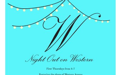 This Thursday:  Night Out On Western Avenue