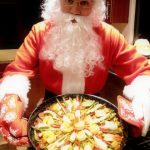 Santa with Paella