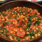 Spanish garbanzo stew