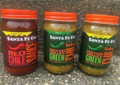 santa fe ole chile sauces
