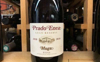 Open Monday, 97 point Muga Rioja, Padron Plants