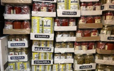 Ybarra Olives Arrive & More