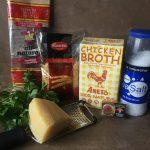 Fideo ingredients