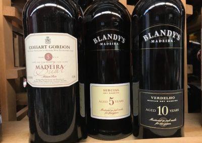 Blandys & Cossart Gordon madeiras