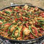 Sharon's paella in contest
