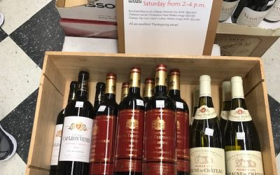 Wine Tasting, Mantecados & New Product Arrivals