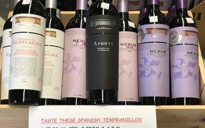 Tempranillo Tasting, Serra da Estrela, & Other Temptations