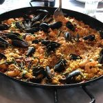 Seafood paella July
