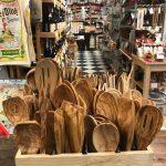 Olivewood utensils