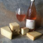 Chateaumar rose & cheese