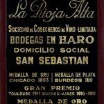 La Rioja Alta medals