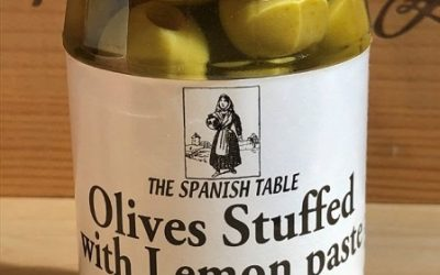 Lemon-Stuffed and Anchovy-Stuffed Olives Arrive, Estrella Galicia Beer