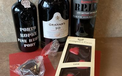 Celebrate Valentine's Day with Port, Chocolate & Cheese, Recipe