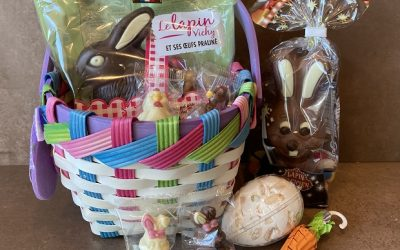 French Easter Bunnies, Creme de Noisette, French Red Wines
